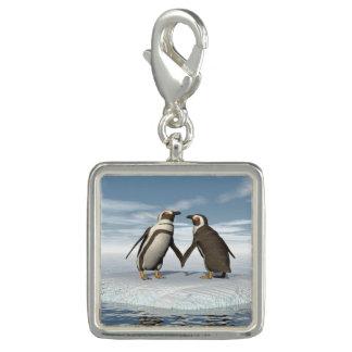 Het paar van pinguïnen charm