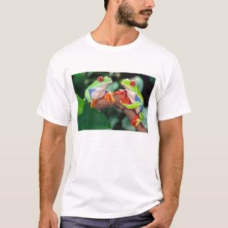 Het Paar van Red Eye Treefrog, callidryas T Shirt