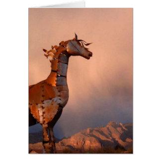 Het Paard 2004 van het ijzer Wenskaart