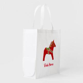 Het Paard die van Dala de Zak van de Herbruikbare Boodschappentas
