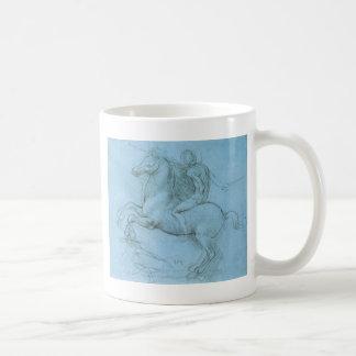 Het Paard en de Ruiter van da Vinci Koffiemok