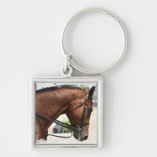Het Paard Keychain van de dressuur Sleutelhanger