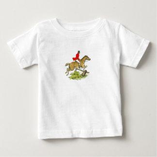 Het Paard van de Jager van de Verbindingsdraad van Baby T Shirts