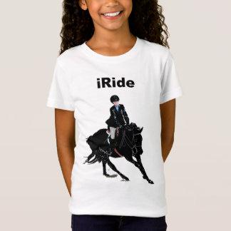 Het Paard van de leuke Kinderen van iRide T Shirt