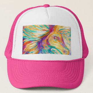 Het Paard van de regenboog Trucker Pet