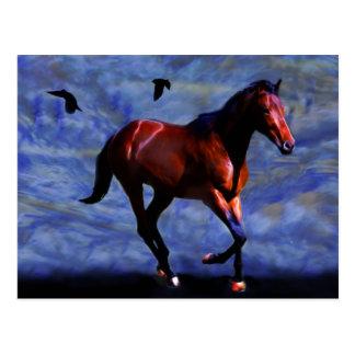 Het paard van de schemering briefkaart