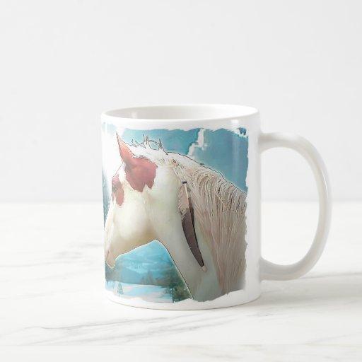 Het Paard van het Pet van de geneeskunde Koffie Mokken