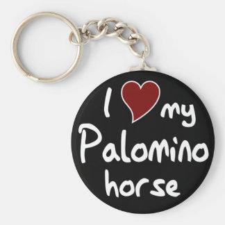 Het paard van Palomino Sleutelhanger