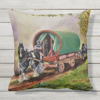 Het paard van Vanner van de zigeuner/paarden, de Buitenkussen