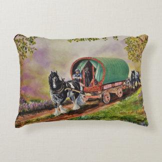 Het paard van Vanner van de zigeuner/paarden, de Decoratief Kussen