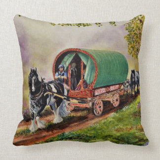 Het paard van Vanner van de zigeuner/paarden, de Kussen