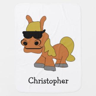 Het paard voegt enkel Naam toe Inbakerdoek