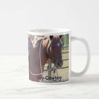 Het paardpaard van het paard, Vrolijke Cowboy Koffiemok