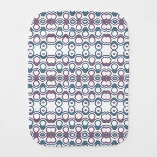 Het paarse & Blauwe Abstracte Patroon van het Monddoekje