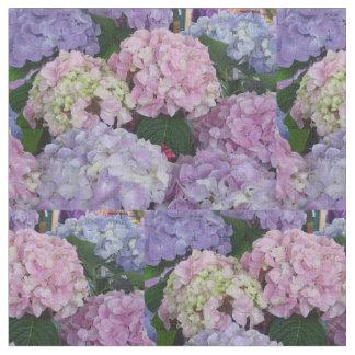 Het Paarse Blauwe Roze van Hydrangia Stof