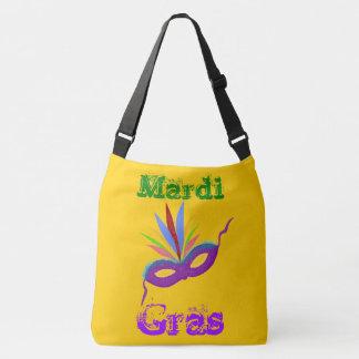 Het paarse Canvas tas van Mardi Gras van het