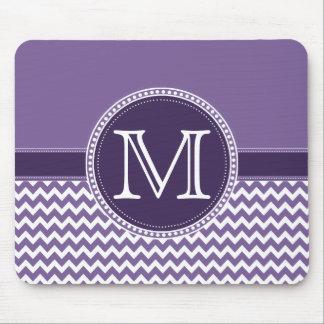 Het paarse en Witte Huwelijk van het Monogram van Muismat