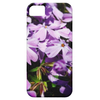 Het paarse Flard van de Bloem Barely There iPhone 5 Hoesje