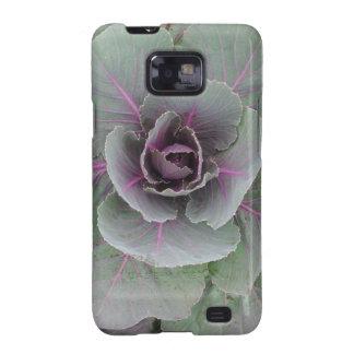 Het paarse Geval van de Melkweg S van Samsung van Samsung Galaxy SII Case