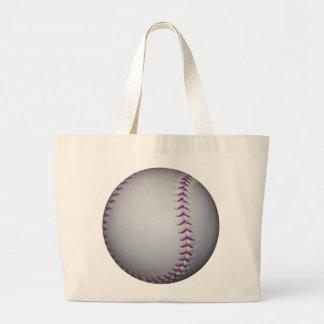 Het paarse Honkbal/het Softball van Steken Jumbo Draagtas