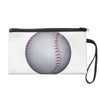 Het paarse Honkbal/het Softball van Steken Tasje Met Polsbandje