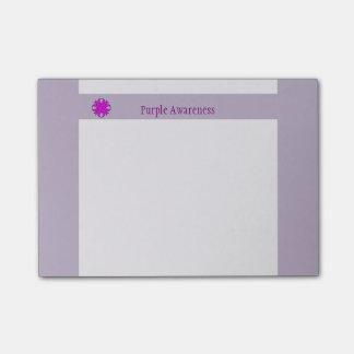 Het paarse Lint van de Klaver Post-it® Notes