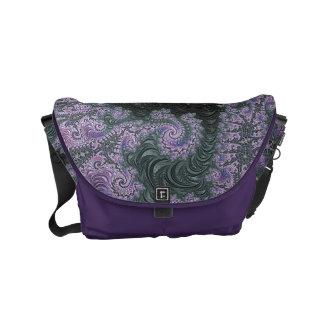 Het paarse Ontwerp van de Zak van de Boodschapper Messenger Bag