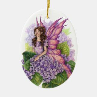 Het paarse Ornament van het Elf