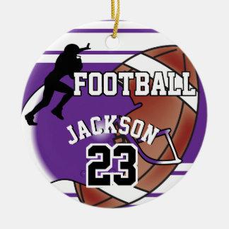 Het paarse Ornament van het Football