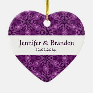 Het paarse Ornament W1597 van het Huwelijk van