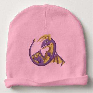 Het paarse Pet van de Draak van het Baby Wyvern Baby Mutsje