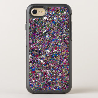 Het paarse Roze schittert Koele Kleurrijke OtterBox Symmetry iPhone 7 Hoesje