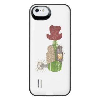 Het Pak van de Batterij van de Cowboy van de fles iPhone SE/5/5s Batterij Hoesje