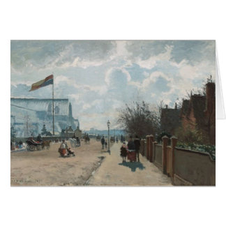 Het paleis ~ Camille Pissarro van het Kristal Kaart