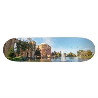 Het paleis van Beeldende kunsten Californië 21,6 Cm Skateboard Deck