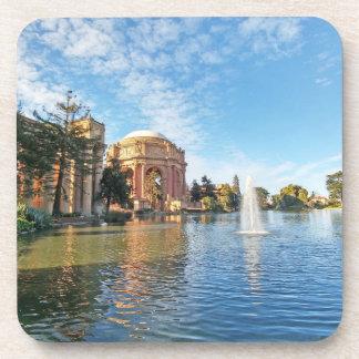 Het paleis van Beeldende kunsten Californië Bier Onderzetters