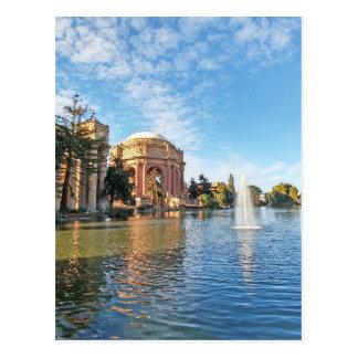 Het paleis van Beeldende kunsten Californië Briefkaart