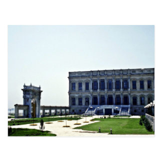 Het Paleis van de ottomane van Ciragan, van de Briefkaart