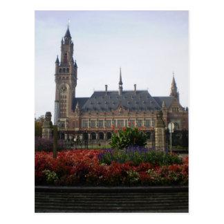 Het Paleis van de vrede Briefkaart