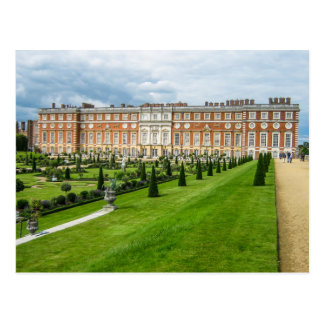 Het Paleis van het Hampton Court, Londen - Briefkaart