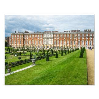 Het Paleis van het Hampton Court, Londen - de Druk Foto