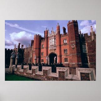 Het Paleis van het Hampton Court Poster