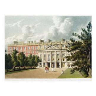Het Paleis van het Hampton Court, van de Briefkaart