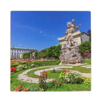 Het paleis van Mirabell en tuinen, Salzburg, Houten Onderzetter