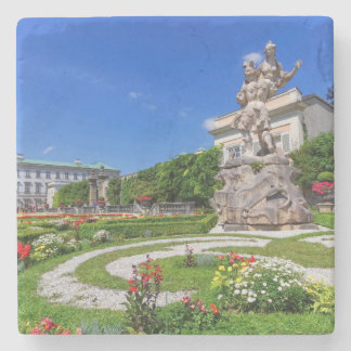 Het paleis van Mirabell en tuinen, Salzburg, Stenen Onderzetter