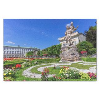 Het paleis van Mirabell en tuinen, Salzburg, Tissuepapier