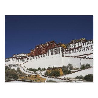 Het Paleis van Potal in Lhasa, Tibet Briefkaart