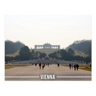 Het Paleis van Schonbrunn - Wenen Oostenrijk Briefkaart