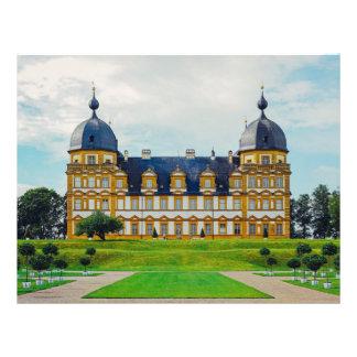 Het paleis van Seehof, Beieren, Duitsland Flyer 21,6 X 27,9 Cm