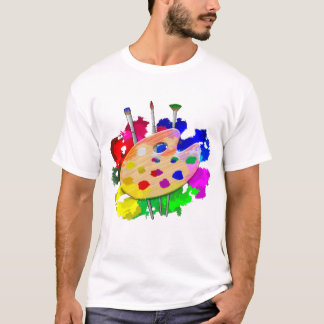 Het Palet en de Borstels van de kunstenaar T Shirt
